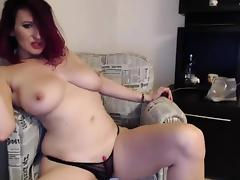 Webcam, Big Tits, Boobs, Brunette, Glasses, Masturbation