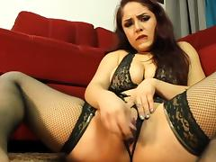 Daisy Fucks Her Tight Pussy And Rips Her Bong porn tube video