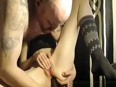Skinny Girl Fucked In Chair