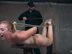 Bound, Babe, BDSM, Blonde, Bound, Master