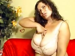 Milf Trembling Breasts That Are Huge tube porn video
