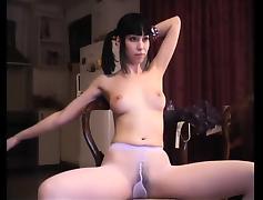 Webcam, Brunette, Cute, Nylon, Pantyhose, Pretty