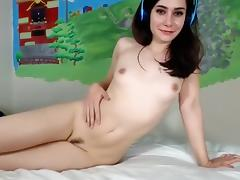 Adorable, Adorable, Brunette, Masturbation, Pretty, Solo