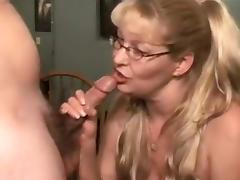 Lady Understands What She Desires. A Creampie!