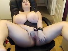 BBW, BBW, Big Tits, Masturbation, Naughty, Solo