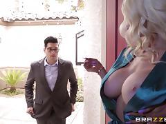 Big Tits, Big Cock, Big Tits, Blonde, Deepthroat, MILF