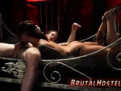 Slave wife shared and brutal fucking with pain screaming Exc porn tube video