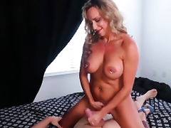 Boobs, Big Tits, Blonde, Boobs, Handjob, HD