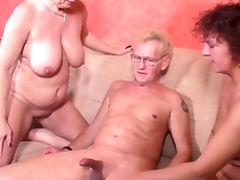 Aged, Aged, Big Tits, Blowjob, Boobs, Cumshot
