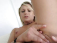 Blonde, Blonde, Boobs, Masturbation, Mirror, Small Tits