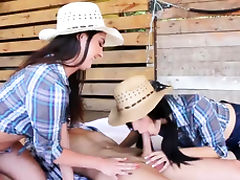 Couple share teen anal first time Farm Girls