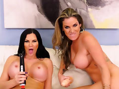 Big Tit MILF Lesbians Scissoring Before Masturbating With tube porn video