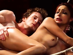 Sexy bondage wrestling and become my slave Poor lil' Jade tube porn video