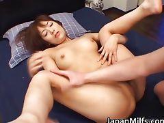 Akane Mochida Hot Japanese babe has hard
