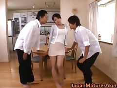 Miki Sato real asian mother part1 tube porn video