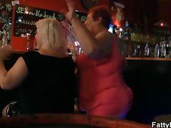Fat ladies have fun at the party tube porn video