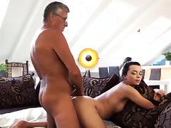 Dad, Blowjob, Brunette, Doggystyle, Hardcore, HD
