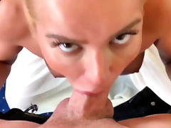 Homemade Quickie with Hairy Blonde