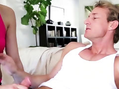 Vigorous young sweetie Ava Taylor fucked a pal tube porn video
