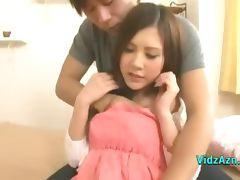 Cute Asian Girl Getting Her Nipples Sucked Hairy Pussy Licked Fingered On The Bed tube porn video