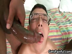 Mclovin gets his anus ripped by black tube porn video