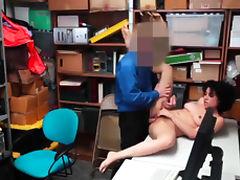 Big Tits, Big Tits, Black, Boobs, Cop, Costume