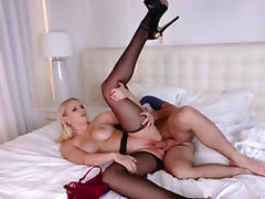 Sister, Birthday, Blonde, Creampie, Hardcore, HD