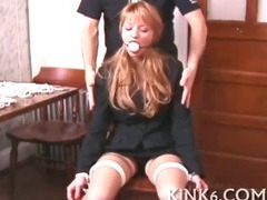 Whore is strapped and handcuffed tube porn video