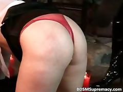 Spanish BDSM play where two cruel part6