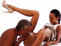 All, Brunette, Fingering, HD, Lick, Penis