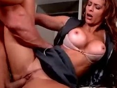 Lady Lawyers Share Cock Sucking