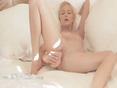 Charming blonde pornstar in art movie tube porn video