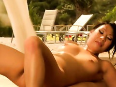Nuru Massage Fuck Only Way He Relaxes And Arouse Her