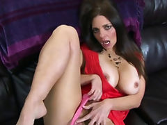 Young stud fucking her horny stepmom