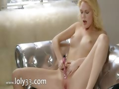 Pink orgasm of true blond princess tube porn video
