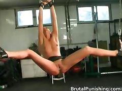Hard core bondage and brutal punishement part4