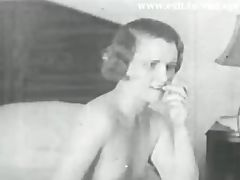 Lesbian Vintage 1931 with 2 bored Housewives porn tube video