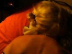 My mom sucking cock