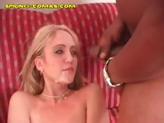 Big Black Cock in Blonde Spring tube porn video