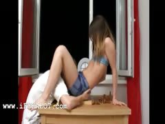 extreme skinny girl playing chess tube porn video