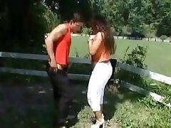 Sandra Brust meets her boyfriend dad