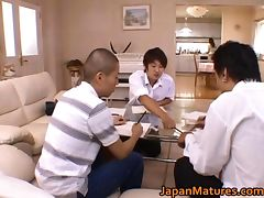 Miki Sato real asian mother tube porn video