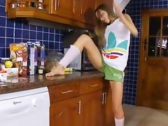 luxury cooking with ivana in the kitchen tube porn video