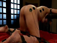 Redhead Gets Brutally Electrocuted Tortured and Fucked JLTT tube porn video