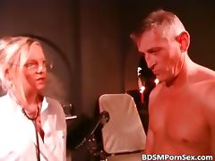 Hot blonde likes BDSM sex she fucks guys part5 tube porn video