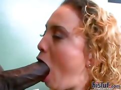 Lana loves black cock