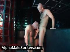 Extremely horny gay men fucking