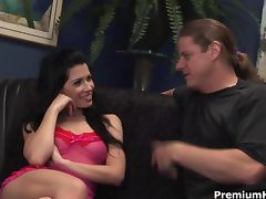 Rebeca with cock in ass tube porn video