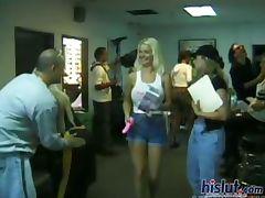 Backroom, Backroom, Backstage, Banging, Bitch, Blonde
