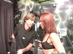 Red head slut gave some guy great head tube porn video